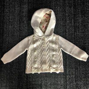 Cynthia Rowley hooded cardigan size 24 m